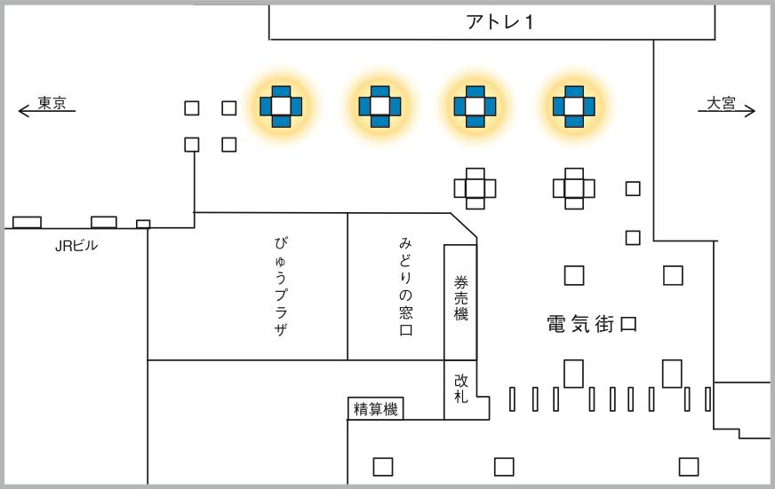 JADビジョン デジタルポスター 秋葉原駅新電気街口65-16面