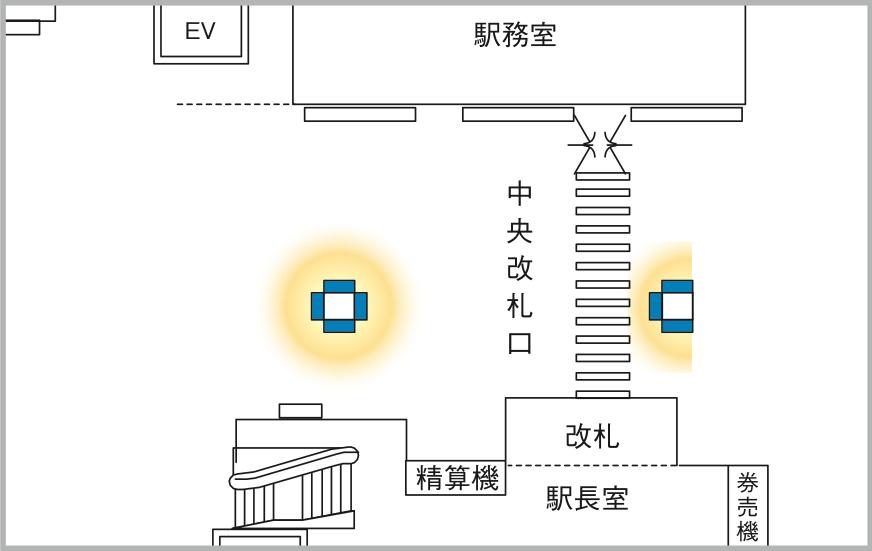 JADビジョン デジタルポスター 秋葉原駅中央改札65-7面