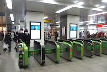 稲毛駅 デジタルサイネージ
