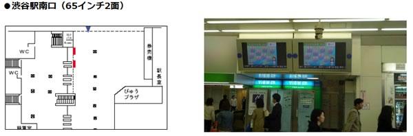 ステーションチャンネル 渋谷南口